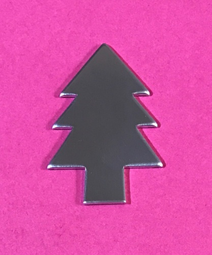 Christmas Tree Stamping Blank