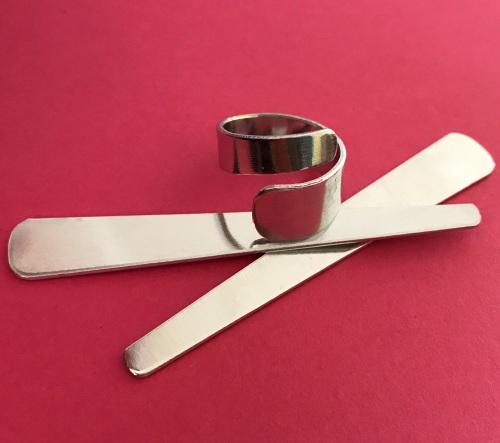Asymmetric Aluminium Wrap Ring Blank