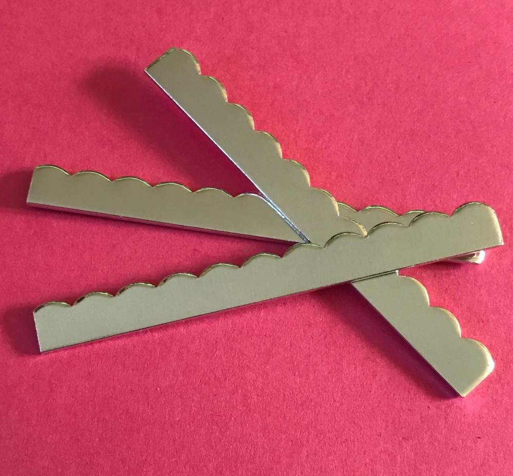 Scalloped Edged Ring Stamping Blank