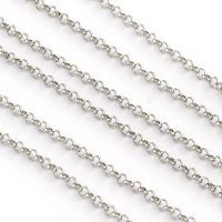 Stainless Steel Strong Rolo Chain 3mm Links