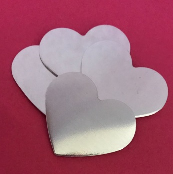 31mm Heart Stamping Blank - STYLE 2