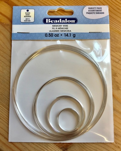 Beadalon Memory Wire Variety Pack