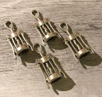 Corkscrew Charms