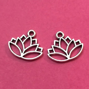 Lotus Flower Charms