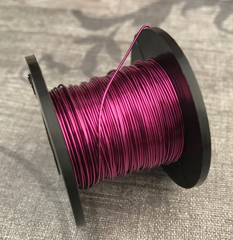 Bright Violet Copper Coloured Wire 0.5mm