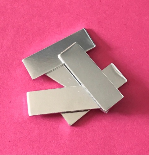 Rectangle Blanks - 29mm by 9mm