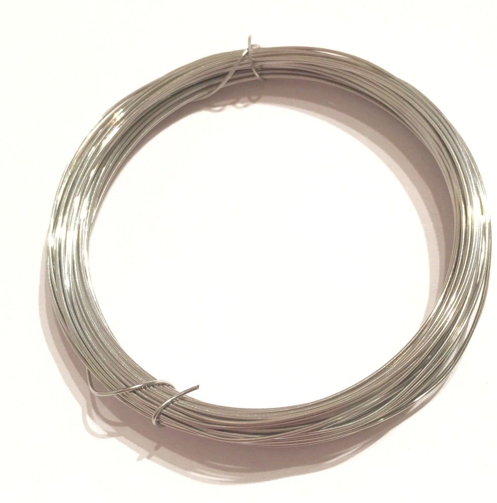 0.8mm Silver Plated Square Wire