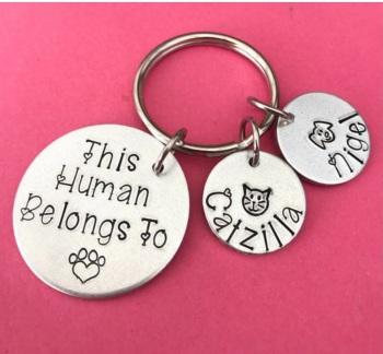 This Human Belongs to Keyring