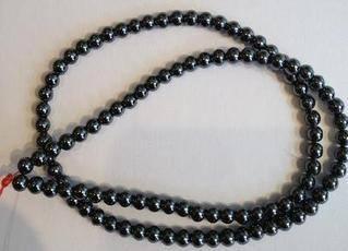 Haematite 4mm Beads
