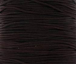 0.6mm Thin Chocolate Brown  Shamballa Nylon Cord