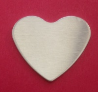 28mm Heart Stamping Blank