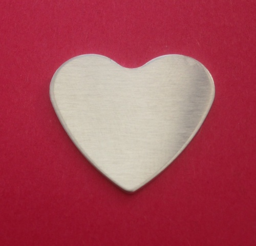 16mm Heart Stamping Blank
