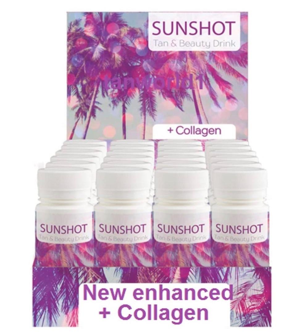 Sun shot Tanning drink x 3.