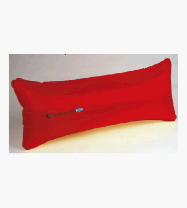 Airbag Iod'95 48 L, Red With Tube
