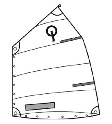 Durarace Light Sail (Under 45 Kg)