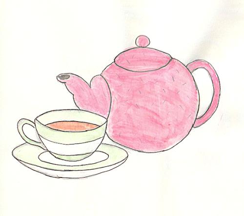 Tea Time Applique