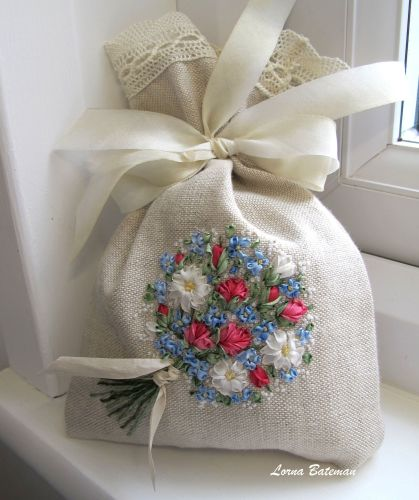 Forget me not Embroidery Now