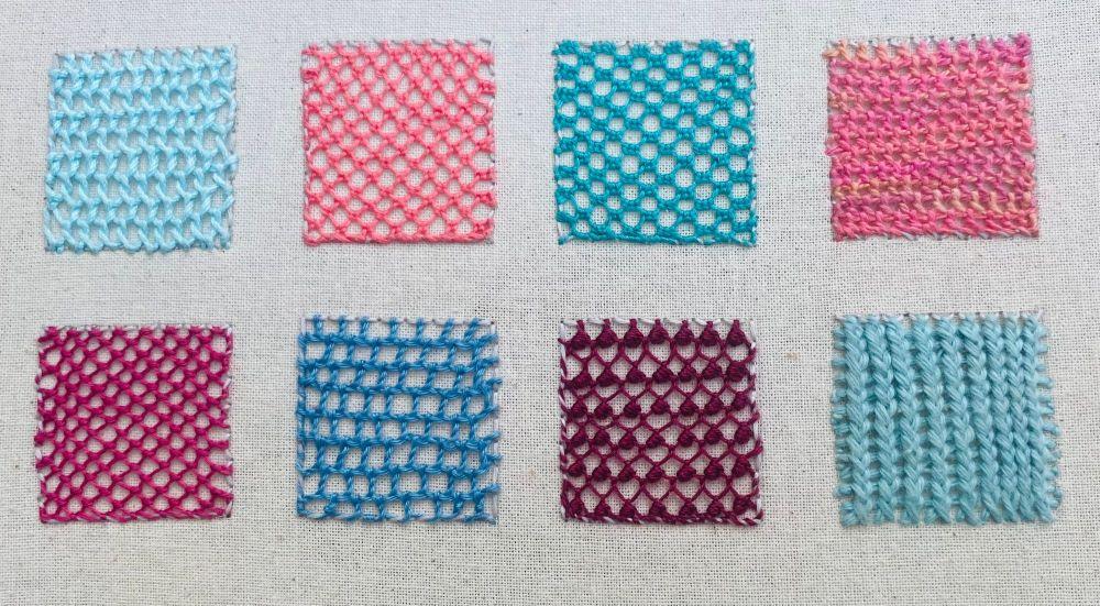 Needlelace Sample 1