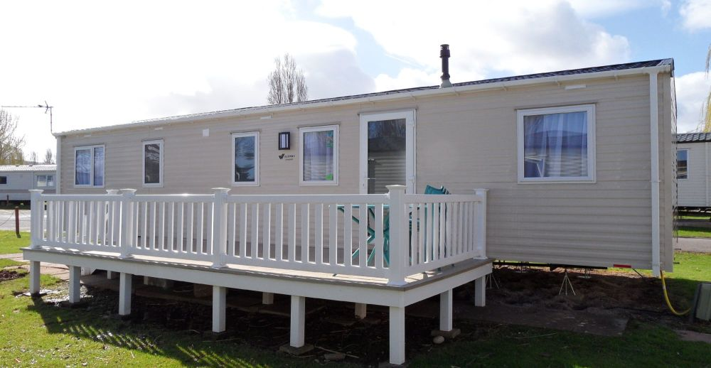 4 Bedroom, 8 to 10 berth caravan Butlins Skegness
