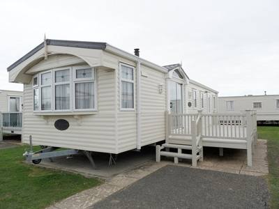 Luxury gold plus Caravan at Butlins Skegness