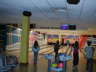bowling Alley at Butlins Skyline