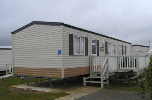 Silver caravan accommodation at Butlins Skegness