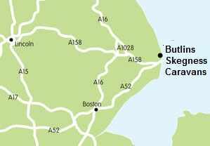 butlins skegness caravans map