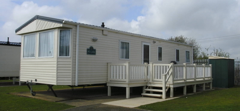 Butlins Gold Caravan accommodation