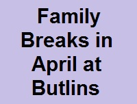 Butlins Skegness april family break
