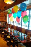 birthday table balloon