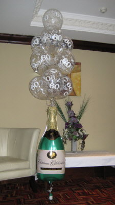 champage display