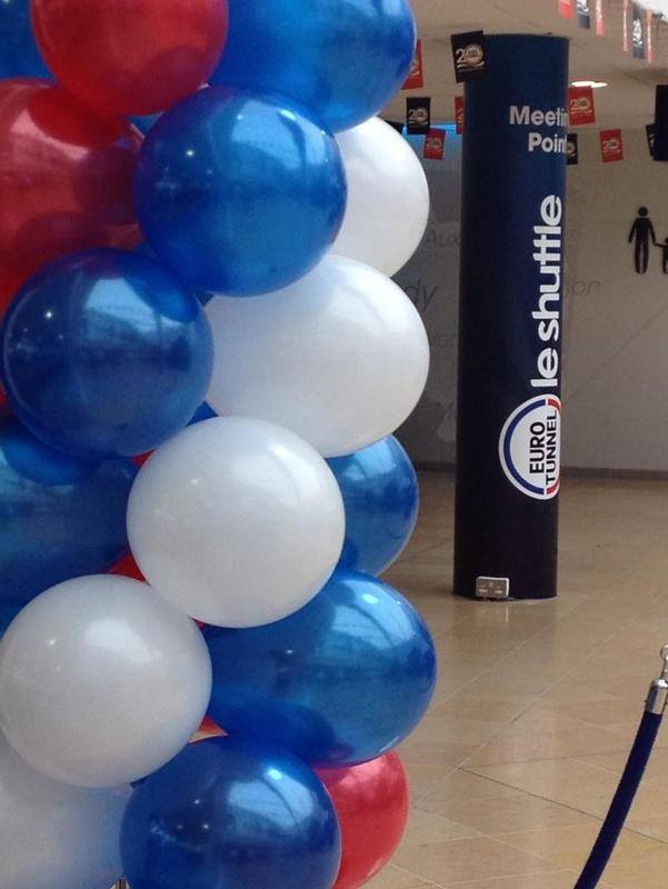 euro tunnel balloons