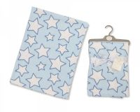 "BW786, ""Nursery Time"" brand cot blanket with ""Star"" design £3.50. pk3..."