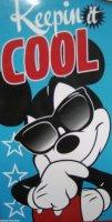 "DM2, Disney ""Mickey Mouse""""Cool"" beach towel £5.50. pk6...."