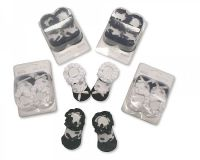 "*BW2122, ""Nursery Time"" brand baby frilly socks in a box £0.90.  pk12.."