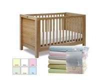 """BW234, """"Nursery Time"""" brand baby 2 pack fitted cot bed sheets £6.50.  2pks..."""