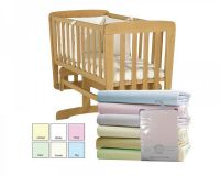 """BW231, """"Nursery Time"""" brand baby 2 pack fitted crib sheets £2.55.  2pks..."""