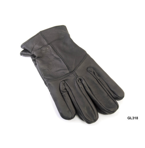 GL318, Mens thinsulate leather gloves £2.75.  pk12...