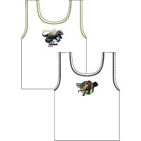 """Code:23203, Official """"Jurassic World"""" boys 2 in a pack vests £1.90. 18pks......."""