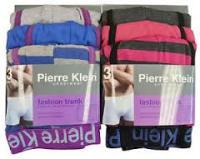 """Code:1471, """"Pierre Klein"""" brand Mens 3 in a Pack Fashion Trunk £2.74.  1 dozen..."""