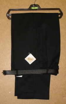 Boys Big Waist Short Length Half Elasticated Trouser (no belt)......