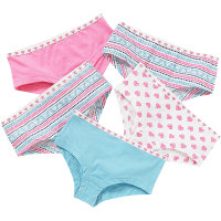 CN1304801, Girls 5 in a pack hipster shorts £2.95.  8pks...