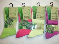 34SED047, Ladies Bamboo Non Elastic Super Soft Socks 3 in a pack £1.38.  1 dozen...