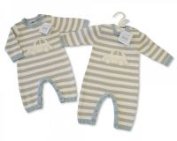 """*BIS1735S, """"Nursery Time"""" Brand Baby Knitted Romper (OUT OF STOCK)  £8.35.  pk6..."""