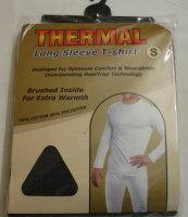 *Mens long sleeve thermal t shirt in charcoal grey £1.95.  PK6...
