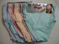 *R1C, Ladies 3 in a pack full briefs £1.61.  1 dozen...