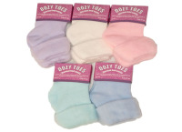 SK804, Ladies plain bed socks.... 1 dozen....