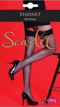 "Code:W5, ""Scarlet"" range Fishnet Stocking £1.10.  pk6....."
