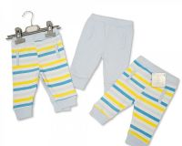 "BIS1819, ""Nursery Time"" Brand Baby Boys 2-Pack Long Pants - Boat £3.30.  6pks.."
