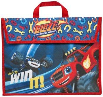 """*BLZ-8254, Official """"Blaze"""" School Book Bag £1.85.  pk6..."""